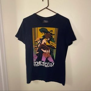 Cowboy Bebop Cool Crew Anime T-shirt Size Medium